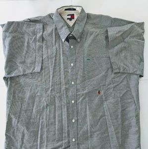 Tommy Hilfiger short sleeve button down shirt